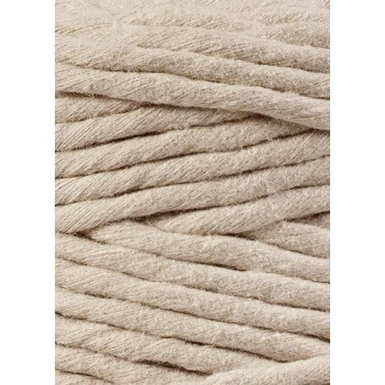 Macramé bavlna XXL - beige - 5 mm