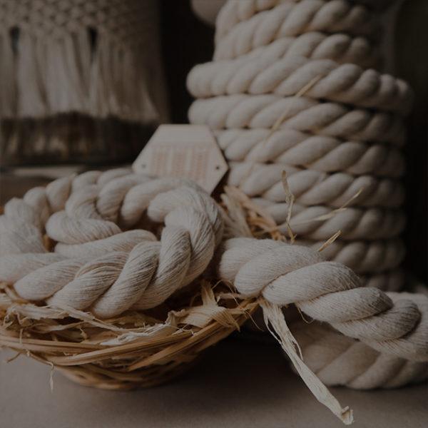Bavlnené lano